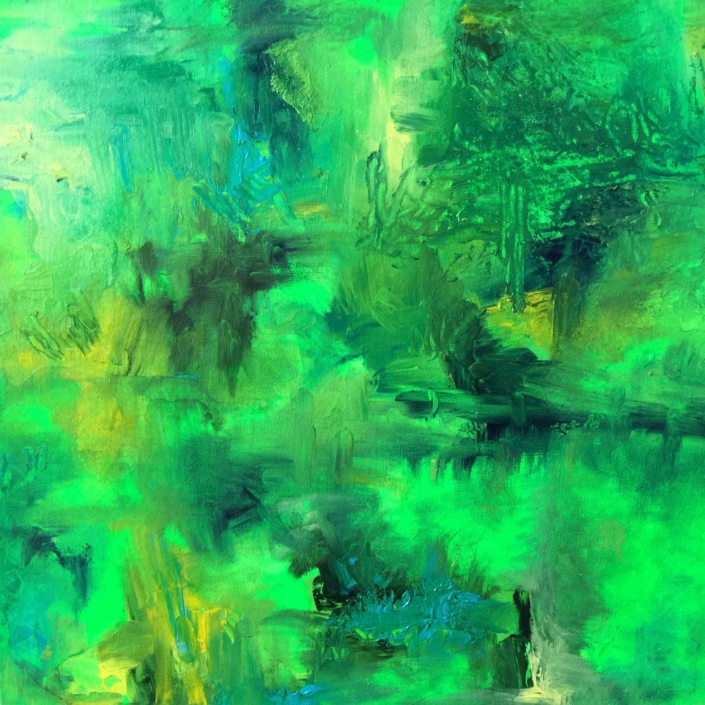 Grüne Landschaft (2016)
