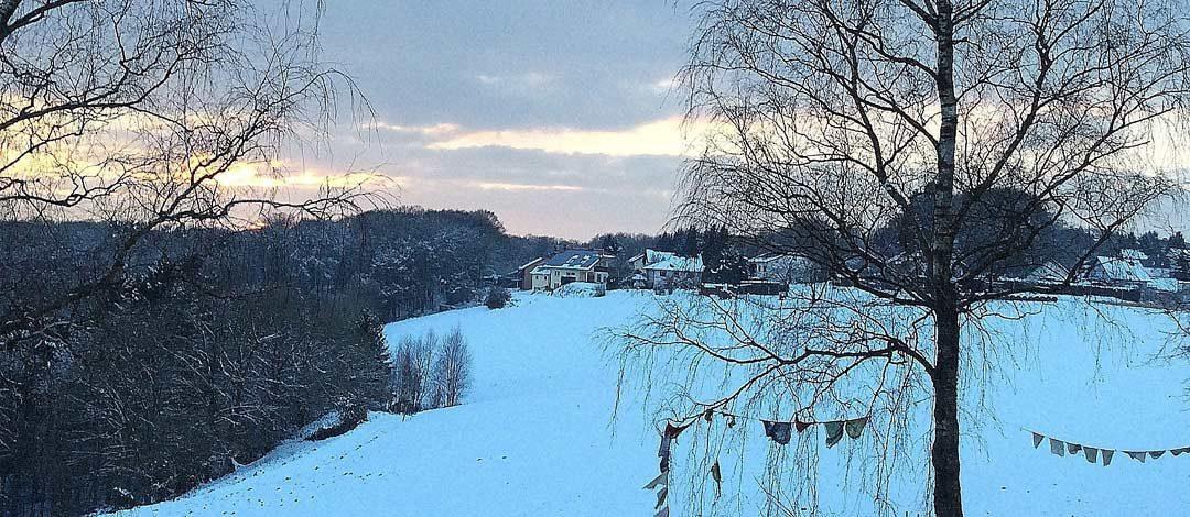 """""""Februar Spätnachmittag in Windeck-Halscheid"""""""